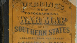 War Map of the Southern States