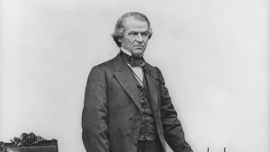 Vice President Andrew Johnson