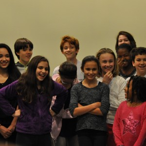 the young cast of a christmas carol in rehearsal photo by carolina dulcey - The Christmas Choir Cast
