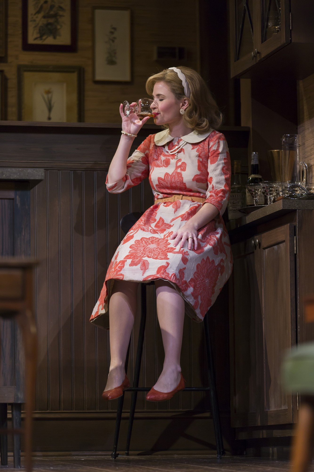 Maggie Wilder As Honey In The Fords Theatre Production Of Edward Albees Whos Afraid Of Virginia Woolf Directed By Aaron Posner
