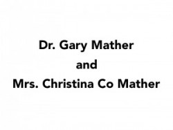 Dr. Gary Mather and Mrs. Christina Co Mather