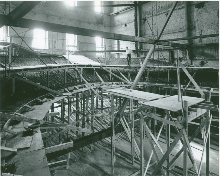 Builders used blueprints from the original Ford's Theatre to recreate the theatre in late 1960s. Photo courtesy of the National Park Service.