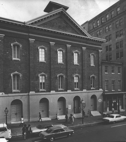 Ford's Theatre reopened in 1968, 103 years after Lincoln's assassination. Photo courtesy of the National Park Service.