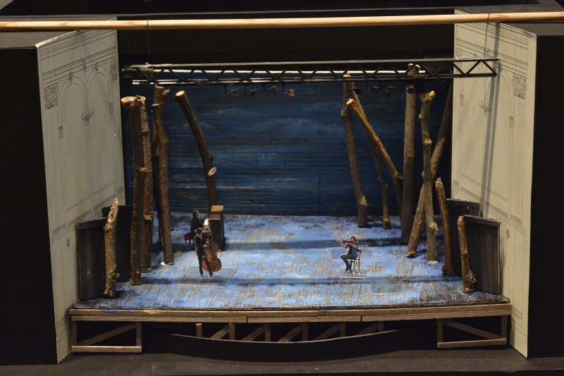 "Set design for ""Come From Away"" at Ford's Theatre"