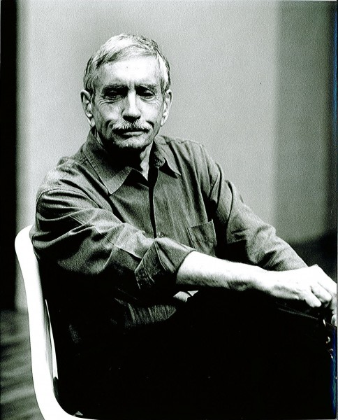 Playwright and Director Edward Albee in rehearsal for The Play About the Baby at Alley Theater, 2000. Photo by T. Charles Erickson