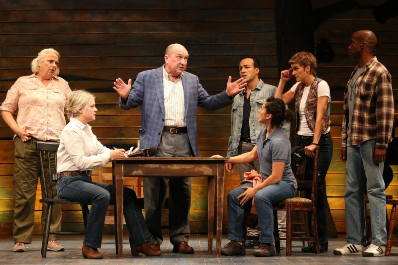 "Ford's Theatre cast of ""Come From Away."" Photo by Carol Rosegg."
