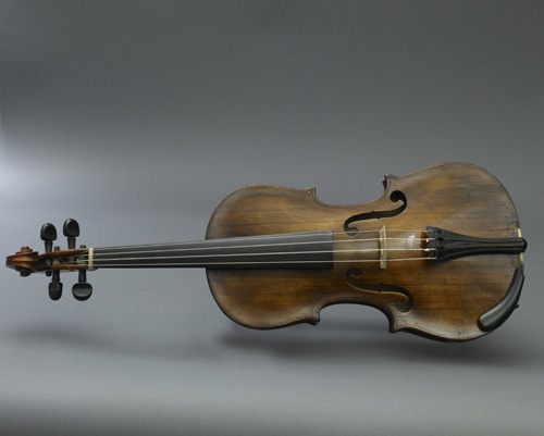 A violin played in the orchestra the night of Abraham Lincoln's assassination at Ford's Theatre.