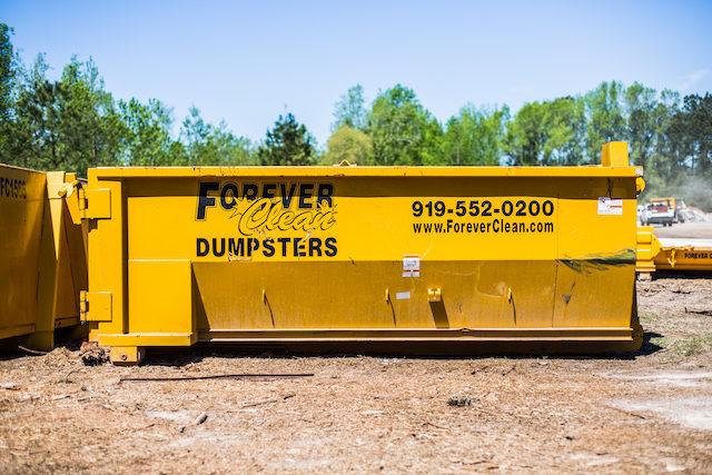Construction Site Dumpsters
