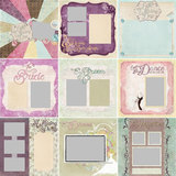Vintage Wedding Predesigned Pages 12x12
