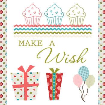 Wishful Kit Digital Art - Digital Scrapbooking Kits