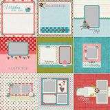 Wishful Predesigned Pages 12x12