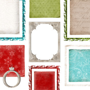 Happy Holidays Frames And Mats