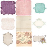 Vintage Wedding Mats And Tags