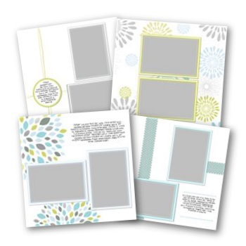 Reflections Of Life 12x12 Predesigned Pages