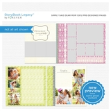 Simply Said Dear Mom 12x12 Predesigned Pages