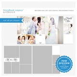 Wedding Gallery 12x12 Digital Predesigned Pages