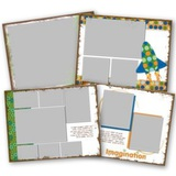 Rugged All Boy 11x8.5 Predesigned Pages