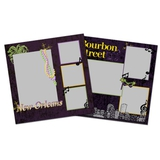 City Streets Of New Orleans 12x12 Page Print Templates