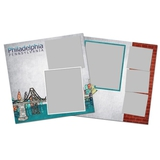 City Streets Of Philadelphia 12x12 Page Print Templates