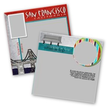 City Streets Of San Francisco 12x12 Page Print Templates