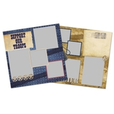 Support Our Troops 12x12 Page Print Templates