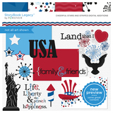 Cheerful Stars And Stripes Digital Additions