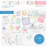 Baby Girl Digital Kit
