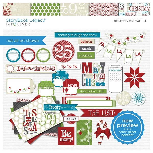 Be Merry Digital Kit