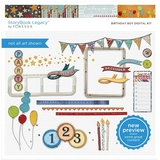 Birthday Boy Digital Kit