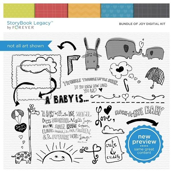 Bundle Of Joy Digital Kit