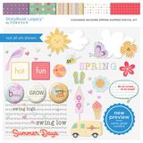 Changing Seasons Spring Summer Digital Kit