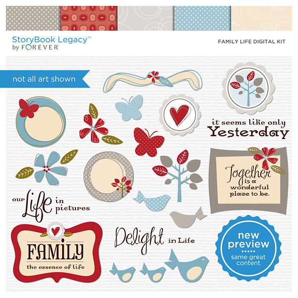 Family Life Digital Kit