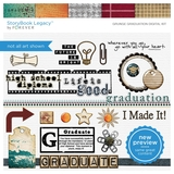Grunge Graduation Digital Kit