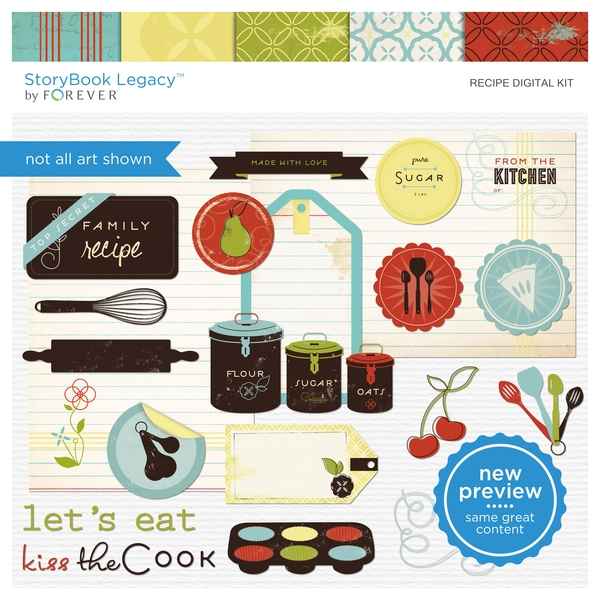 Recipe Digital Kit