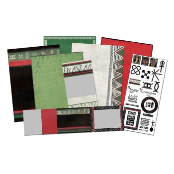 Kwanzaa Digital Card Kit