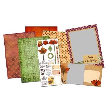 Thanksgiving Digital Card Kit