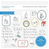 Ashby Series Baby Boy Digital Embellishments