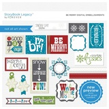 Be Merry Digital Embellishments