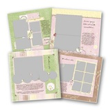 Delight Baby 12x12 Predesigned Pages