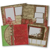 Cottage Garden 11x8.5 Predesigned Pages