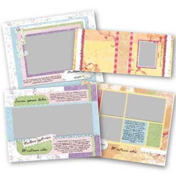 Delight 11x8.5 Predesigned Pages