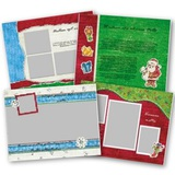 Primary Christmas 11x8.5 Predesigned Pages