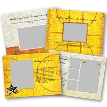 Basketball 7x5 Predesigned Pages