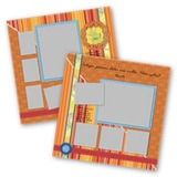 Cheerful 12x12 Page Print Templates
