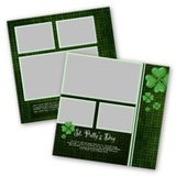 St Patricks Day 12x12 Page Print Templates For Storybook Creator