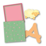 Baby Girl Bright Digital Kit