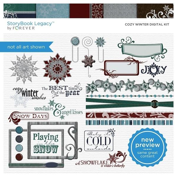 Cozy Winter Digital Kit