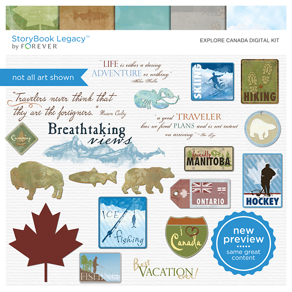 Explore Canada Digital Kit