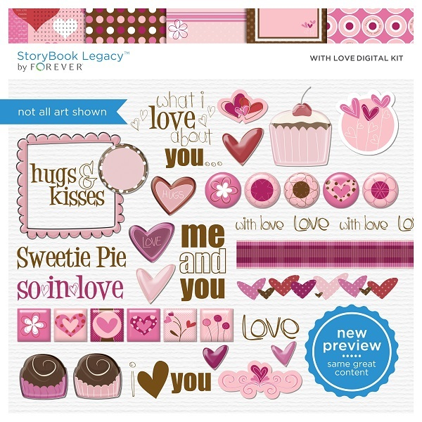 With Love Digital Kit