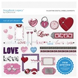 Valentine Digital Embellishments
